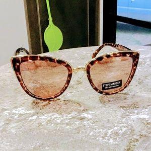Steve Madden Tortoise Shell Designer Sunglasses Ne
